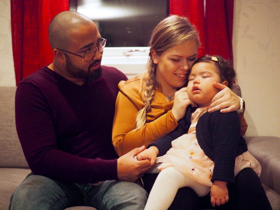 Livet med et alvorlig, sykt barn har vært svært tøft for Lars og Ragnhild